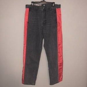 BDG Urban Outfitters Gray Jeans Men's Size 34 Red